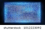 bright led projection screen.... | Shutterstock .eps vector #1012223092