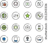 line vector icon set   camera... | Shutterstock .eps vector #1012243336