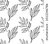 a seamless pattern with a... | Shutterstock .eps vector #1012246786