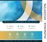 website design for your... | Shutterstock .eps vector #1012247296