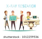 bone x ray research radiology... | Shutterstock .eps vector #1012259536