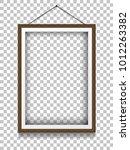 vector picture frame mockups. | Shutterstock .eps vector #1012263382