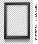 vector picture frame mockups. | Shutterstock .eps vector #1012263388