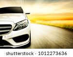 car and background of free...   Shutterstock . vector #1012273636