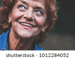 portrait of a happy fifty year...   Shutterstock . vector #1012284052