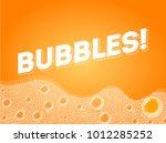soap bubbles in bath or sud.... | Shutterstock .eps vector #1012285252