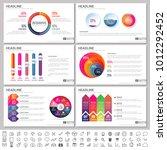 modern elements of infographics ... | Shutterstock .eps vector #1012292452