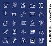 business outline vector icon...   Shutterstock .eps vector #1012299682