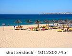 alvor  portugal   june 7  2017  ... | Shutterstock . vector #1012302745