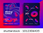 creative design poster with... | Shutterstock .eps vector #1012306435