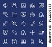 business outline vector icon... | Shutterstock .eps vector #1012309135