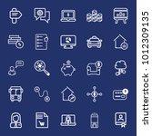 business outline vector icon... | Shutterstock .eps vector #1012309135