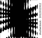 black and white grunge vector... | Shutterstock .eps vector #1012312312