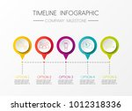 colouful template of company... | Shutterstock .eps vector #1012318336