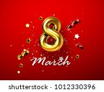 8 march. international women... | Shutterstock .eps vector #1012330396