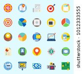 icons set about digital... | Shutterstock .eps vector #1012333555