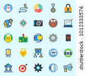 icons set about digital...   Shutterstock .eps vector #1012333576
