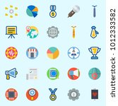 icons set about digital... | Shutterstock .eps vector #1012333582