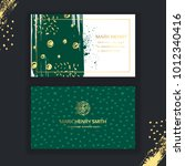set of black and gold design...   Shutterstock .eps vector #1012340416