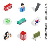 asian history icons set....   Shutterstock .eps vector #1012363576