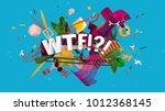 effective social media positive ... | Shutterstock . vector #1012368145