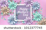 abstract festive background... | Shutterstock .eps vector #1012377745