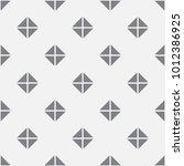 vector seamless pattern. modern ... | Shutterstock .eps vector #1012386925