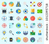 icons set about marketing with...   Shutterstock .eps vector #1012395718