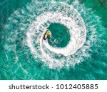 people are playing a jet ski in ... | Shutterstock . vector #1012405885