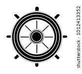 ship steering wheel | Shutterstock .eps vector #1012413352
