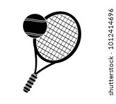 play tennis icon | Shutterstock .eps vector #1012414696