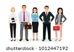 vector illustration business... | Shutterstock .eps vector #1012447192