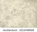 light stucco texture cement or... | Shutterstock . vector #1012448068