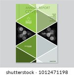 annual business report cover... | Shutterstock .eps vector #1012471198