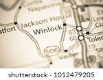 Winlock. Washington State on a map.