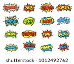 collection of bright  colorful  ...   Shutterstock .eps vector #1012492762
