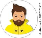 fisherman sailor  seaman man...   Shutterstock . vector #1012525552