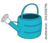 vector of watering can | Shutterstock .eps vector #1012530796