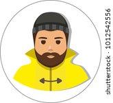 fisherman sailor  seaman man in ...   Shutterstock . vector #1012542556