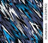 abstract seamless vector... | Shutterstock .eps vector #1012569922