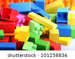 block building. | Shutterstock . vector #101258836