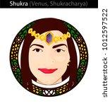 shukra  venus  shukracharya .... | Shutterstock .eps vector #1012597522