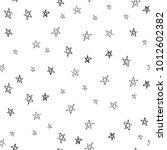 doodle little stars seamless... | Shutterstock .eps vector #1012602382