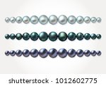 graded pearl border frame.... | Shutterstock .eps vector #1012602775