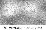 background of water drops of... | Shutterstock .eps vector #1012612045