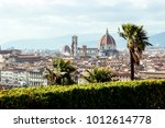 view of florence.  | Shutterstock . vector #1012614778