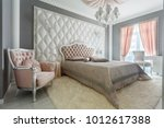 interior of a classic style... | Shutterstock . vector #1012617388