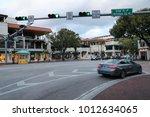 coconut grove  miami  florida ... | Shutterstock . vector #1012634065