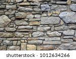 stonework wall of old building  ... | Shutterstock . vector #1012634266