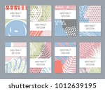 abstract colorful backgronds... | Shutterstock .eps vector #1012639195